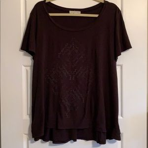 Urban Outfitters Truly Madly Deeply Aztec Tee